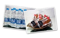 軽食・お飲物の無料サービス実施中画像